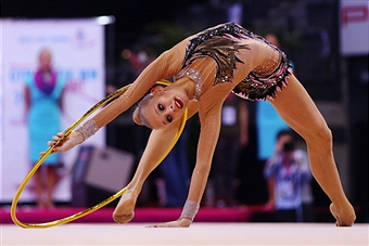 Yana Kudryavtseva is making history in gymnastics and is still only a teenager ©Getty Images