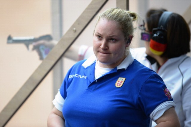 Zorana Arunovic of Serbia is one of four shooters elected to the ISSF Athletes' Committee in Granada ©Getty Images