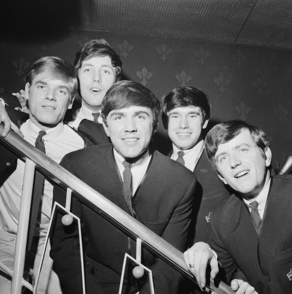 The Dave Clarke Five pictured in 1963. Tottenham lads - but their classic song Glad All Over has been a theme tune for Crystal Palace FC down the years ©Hulton Archive/Getty Images
