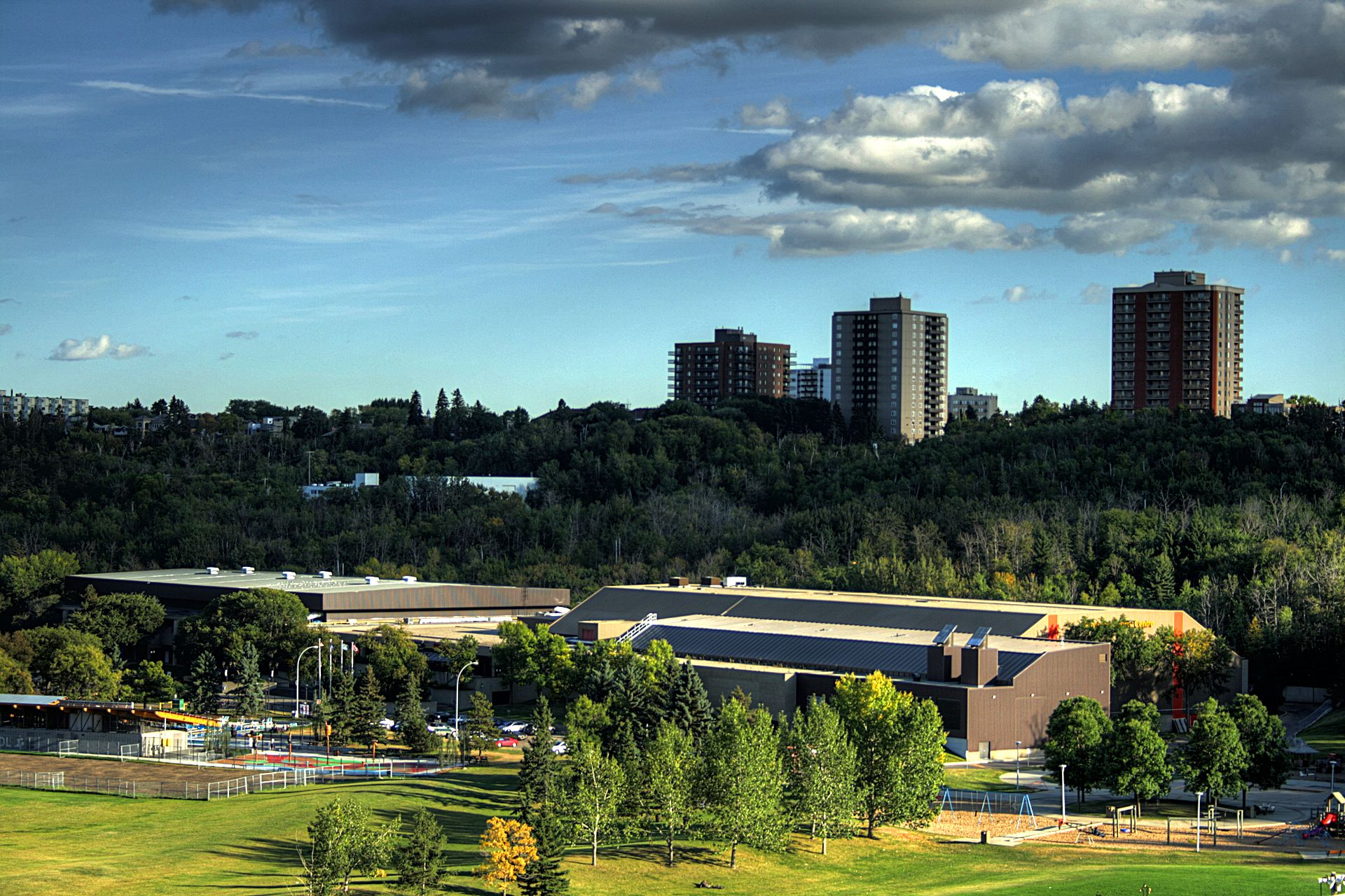 The Kinsmen Sports Centre is one of the proposed venues for the Commonwealth Games should Edmonton 2022 win the bid ©Wikipedia