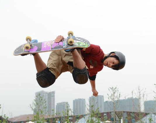 Skateboarding is hoping to build on its showcasing at Nanjing 2014, but is not going to push the agenda on Olympic inclusion ©Nanjing 2014