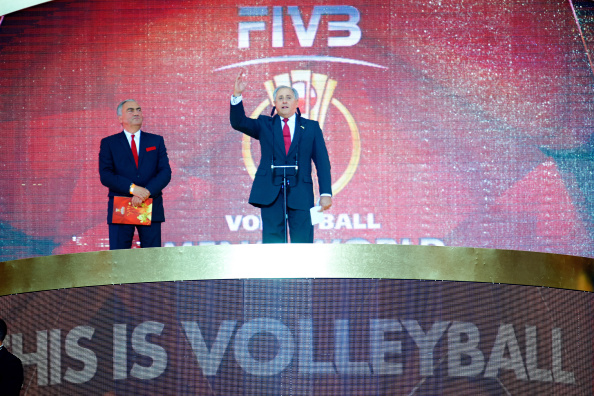 FIVB President Dr Ary S Graça has claimed that the world governing will not tell the Iranian Government directly that they have to lift a ban on women attending volleyball matches ©Getty Images