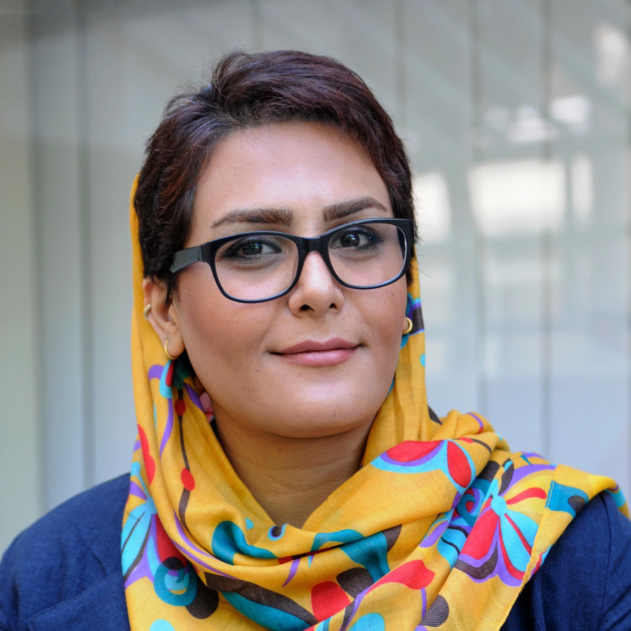 Iranian journalist Fatemeh Jamalpour claims she was slapped around the face and held in detention for six hours after trying to attend an FIVB World League match in Tehran ©Twitter