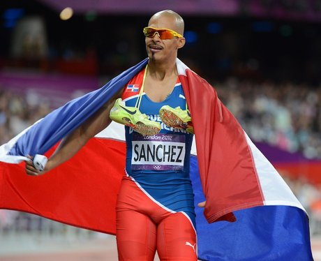 Félix Sánchez won the Dominican Republic's first-ever Olympic gold medal, at Athens 2004 ©Getty Images