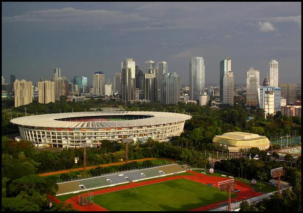 The Gelora Bung Karno Main Stadium was built for the 1962 Asian Games, the last time Jakarta hosted the event, and will be used again in 2018 ©AFP/Getty Images