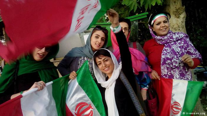 Women in Iran are currently banned from attending volleyball matches ©iranhumanrights.org