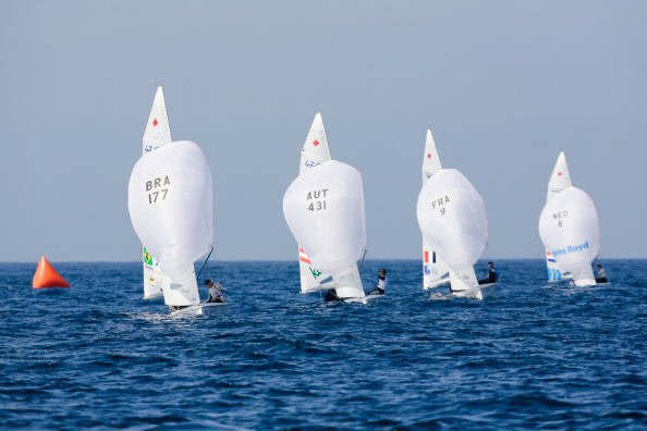 Light winds and a strong current tested the athletes on day three of the Sailing World Championships in Spain ©Getty Images