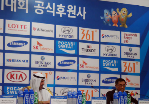 OCA President Sheikh Ahmad has raised the prospect of more Oceanian involvement in Asian sporting events ©OCA