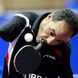 The Nothing is Impossible video of Ibrahim Hamato has reached two million YouTube views ©ITTF/Rémy Gros1