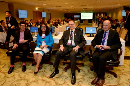 Rio 2016 heavyweights have gathered for the seventh Coordination Commission, including Rio 2016 President Carlos Nuzman (third from left) and chief executive Sidney Levy (far right) ©Rio 2016