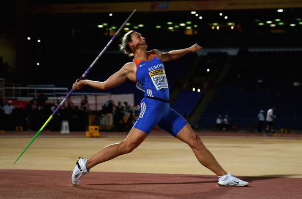 Barbora Spotakova, the double Olympic and European javelin champion, helped Team Europe take a commanding halfway lead in the IAAF Continental Cup as she produced an African All-Comers' record of  65.52m ©Getty Images