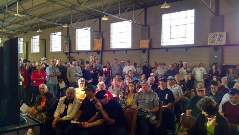 Around 250-300 people attended the auction in Salt Lake City on Saturday ©Facebook