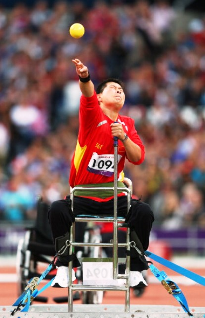 China's Yang Liwan was one of four athletes to set world records at the Asian Para Games today ©Getty Images
