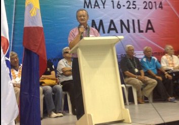 POC President Jose Cojuangco Jr believes action needs to be taken to resolve problems in the judging of boxing ©Twitter
