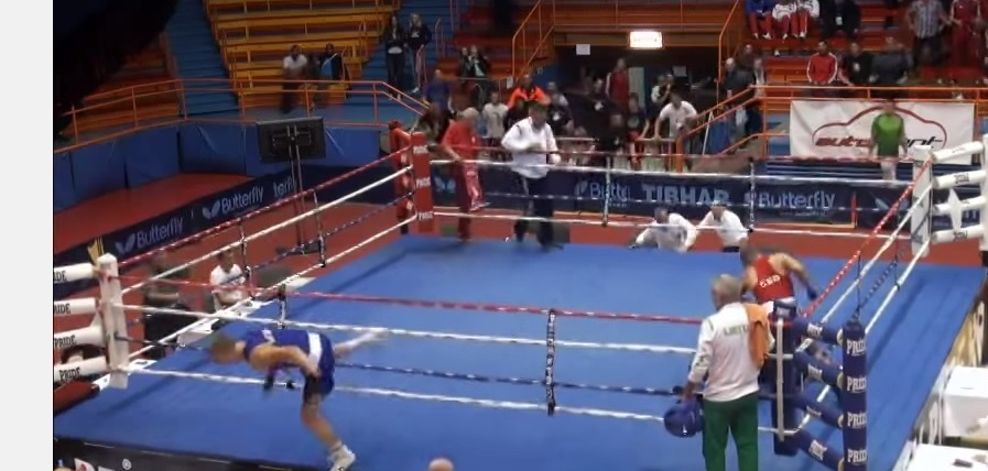 Croatian boxer Vido Loncar has been provisionally suspended for life after punching the referee at the European Youth Boxing Championships in Zagreb ©Youtube