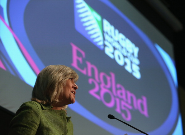 """Debbie Jevans, chief executive of England Rugby 2015, believes the demand for tickets is """"a terrific indicator of the general interest and excitement"""" for the World Cup ©Getty Images"""