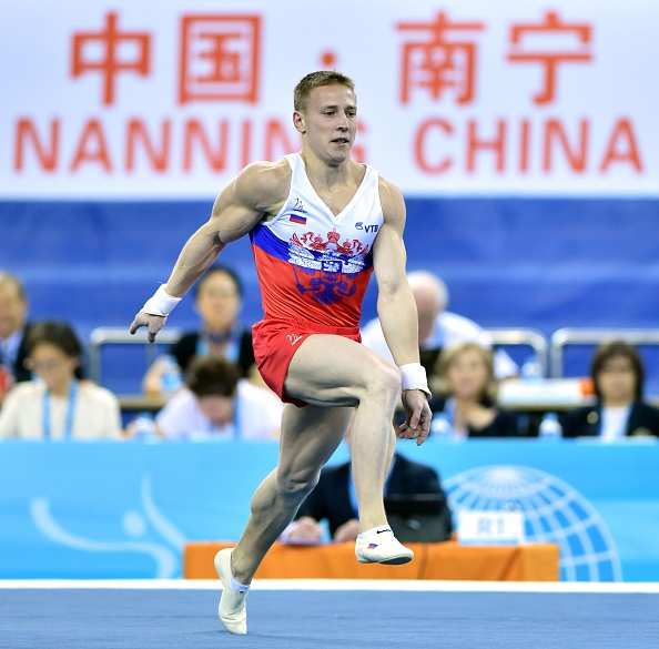 Denis Ablyazin secured gold in the men's floor exercise final on the penultimate day of the Artistic Gymnastics World Championships ©Getty Images