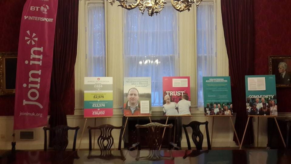 Details of the research carried out were displayed across the conference in London ©ITG