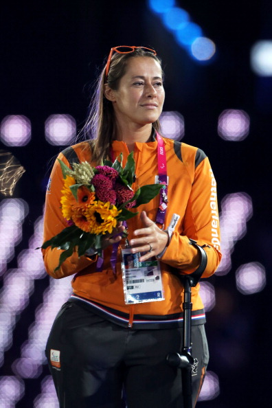 Elvira Stinissen was voted on to the IPC Athletes' Council during London 2012 ©Getty Images