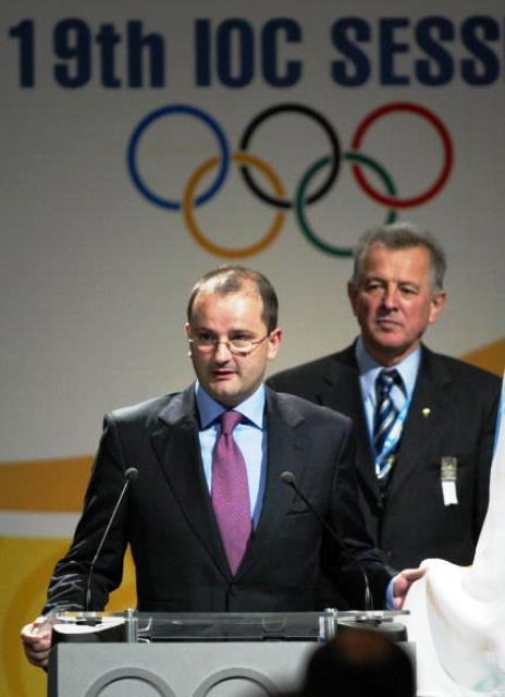 FIBA secretary general Patrick Baumann has been an IOC member since 2007 and will speak about basketball's success on the Olympic Games programme ©AFP/Getty Images