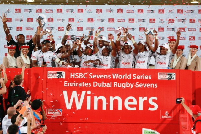 Fiji will be looking to build on a promising Sevens World Series start by defending their Dubai Sevens title ©Getty Images