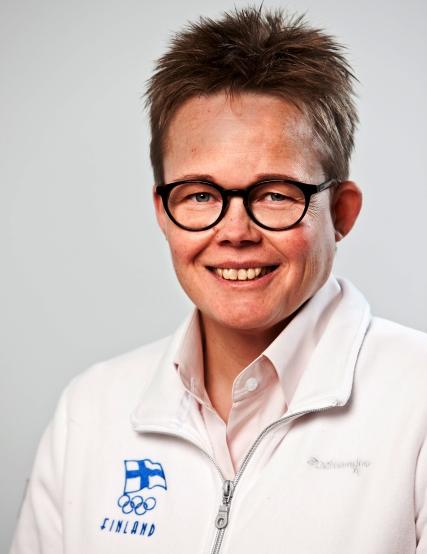 Finland Chef de Mission Leena Paavolainen