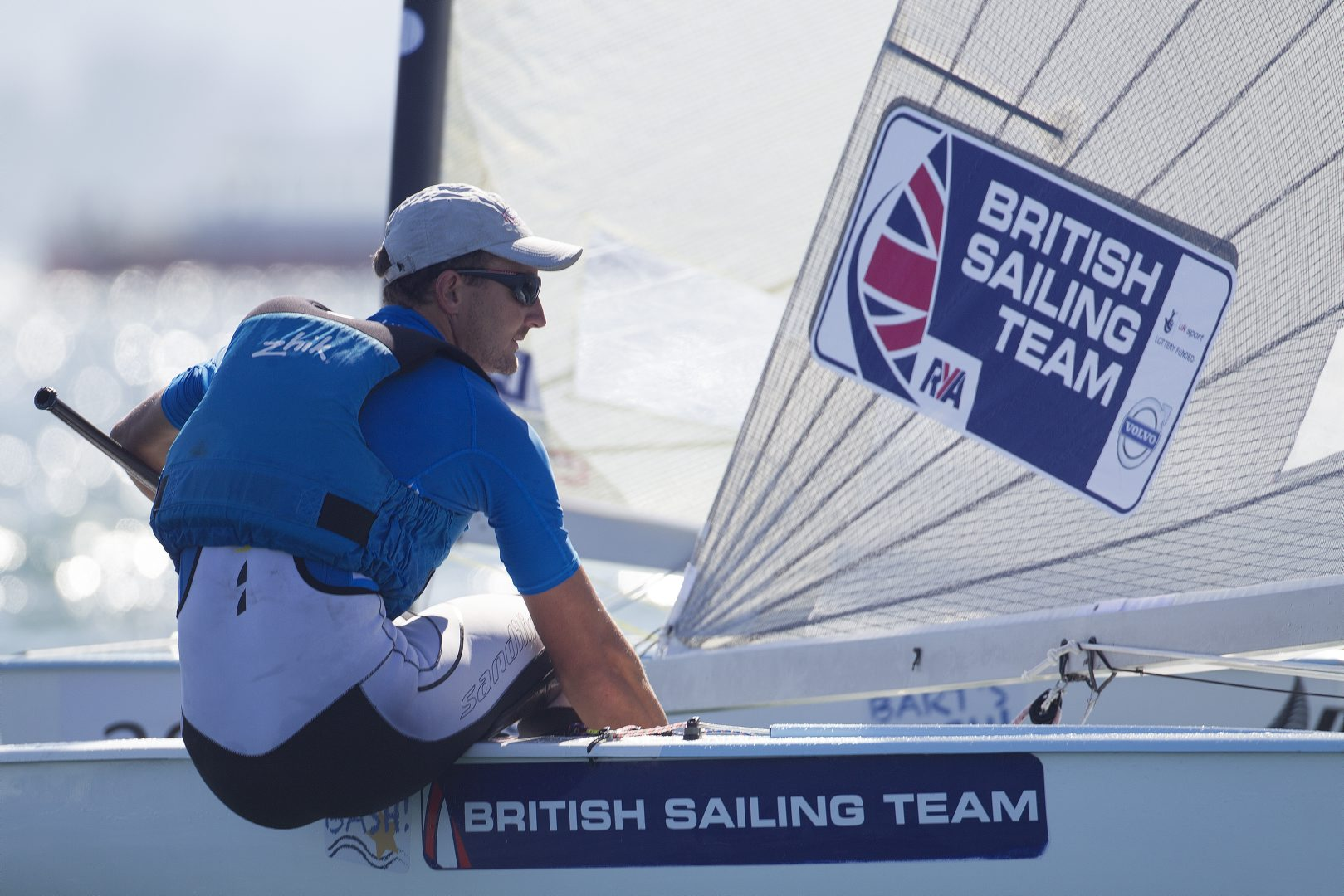 Giles Scott has been awarded British Sailing's Athlete of the Year ©Ocean Images/British Sailing Team