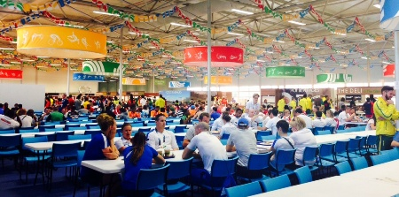 More than two million meals were prepared at Glasgow 2014 making it the biggest catering event in Scottish history ©Glasgow 2014