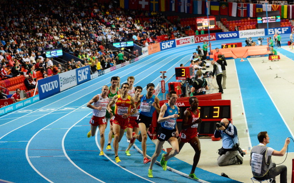 Glasgow has expressed interest in hosting the 2019 European Indoor Athletics Championships ©Getty Images