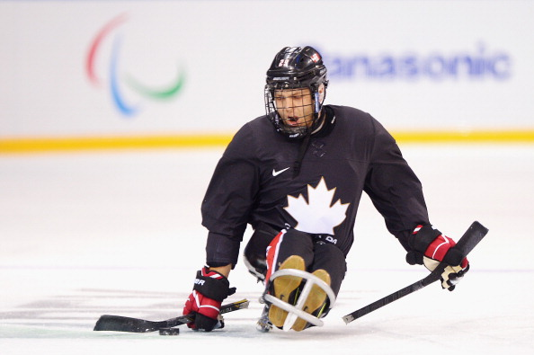 Graeme Murray is hanging up his sled, but wants to continue promoting the sport of ice sledge hockey ©Getty Images