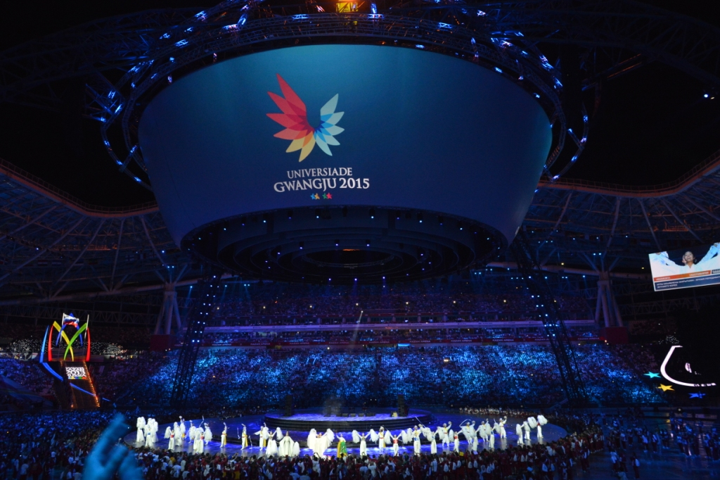 Gwangju 2015 steps up its effort ahead of next year's Summer Universiade following the conclusion of the 2014 Asian Games ©Gwangju 2015