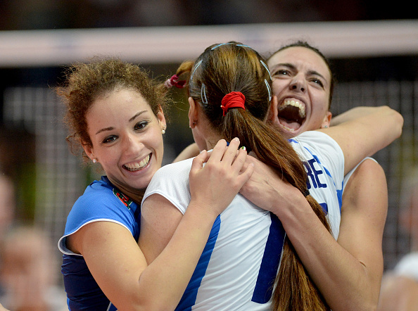 Hosts Italy are through to the semi-finals of the International Volleyball Federation Women's World Championship ©Getty Images for FIVB