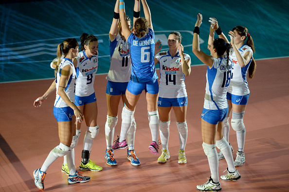 Hosts Italy have taken a big steps towards the semi-finals ©Getty Images for FIVB