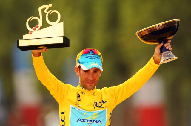 Italian Vincenzo Nibali led the Astana team to victory at this year's Tour de France ©Getty Images
