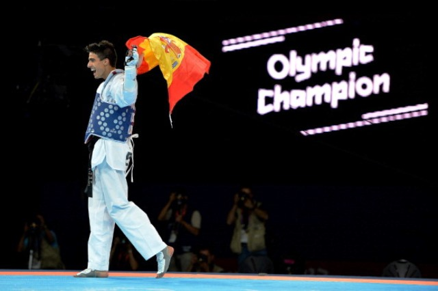 Joel Gonzalez Bonilla of Spain is one of 10 Olympic champions set to compete at the World Taekwondo Grand Prix in Manchester ©Getty Images