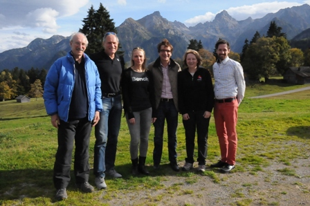 Katerina Nycova (third from left), the European Olympic Committees EYOF manager, has been impressed by the preparations for the Festival ©EYOF 2015