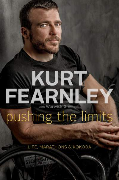 "Kurt Fearnley's new book ""Pushing the Limits"" is due to be published on October 22 ©Penguin Books"