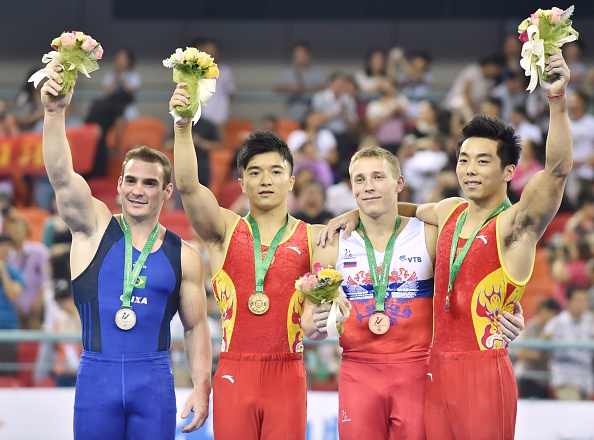 Liu Yang of China took top honours in the men's ring final after a superb display of power and strength ©Getty Images