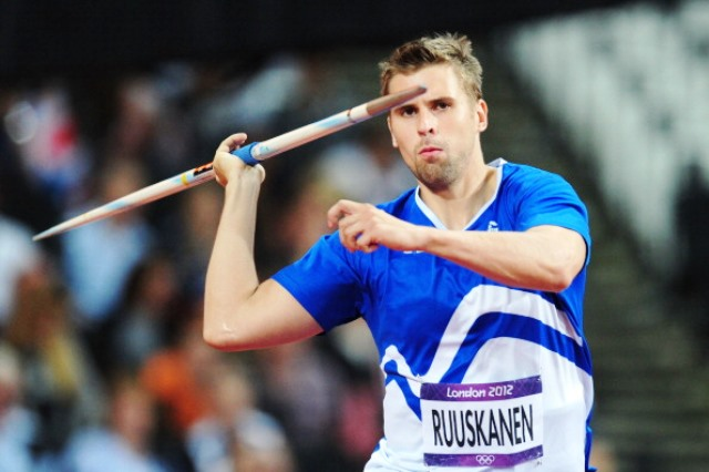 London 2012 bronze medallist Antti Ruuskanen could be among 150 Finnish athletes competing at Baku 2015 ©Getty Images