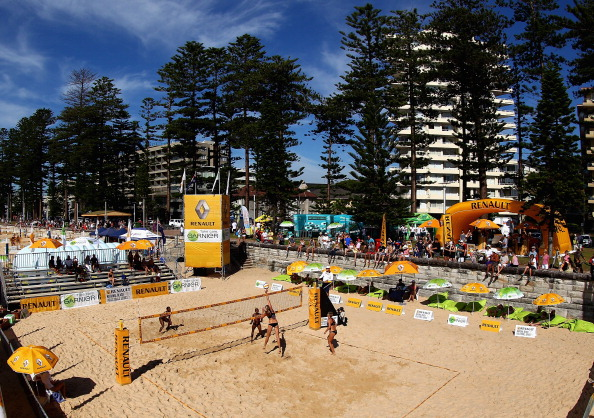 Manly Beach will host the opening round of the Australian Beach Volleyball Grand Tour ©Getty Images