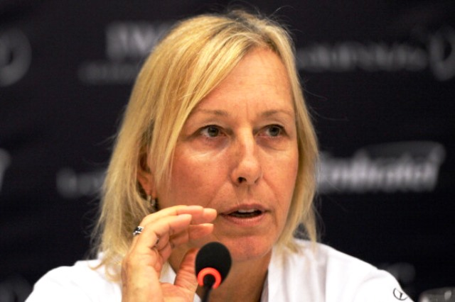 Martina Navratilova has criticised the ITF for its silence over deragtory remarks about the Williams sister made by Russian tennis chief Shamil Tarpischev ©Getty Images
