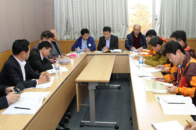 Members of the Gwangju 2015 Organising Committee have taken part in an Incheon 2014 Debriefing ©Gwangju 2015