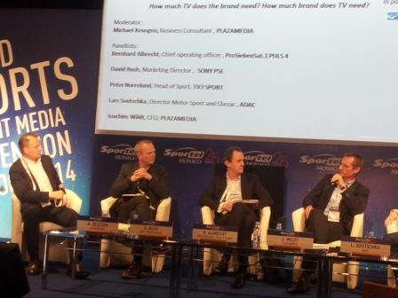 New ways of showcasing sport was discussed at today's panel discussion ©ITG