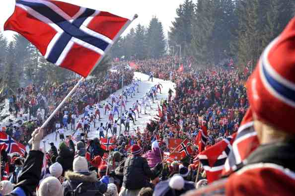 Norwegian officials will meet with IOC figures to discuss the implications of Oslo's withdrawal ©Getty Images