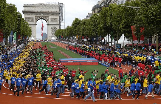 Hosting future European Games could appeal to cities, like Paris, who have bid unsuccessfully for the Olympics, Baku 2015 director of sport Pierce O'Callaghan claims ©Getty Images