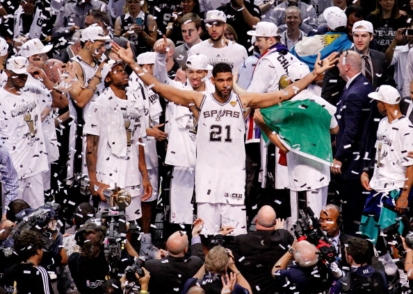 NBA champions the San Antonio Spurs will be among those showcased by the new television deal with Turner Broadcasting System and The Walt Disney Company ©Getty Images