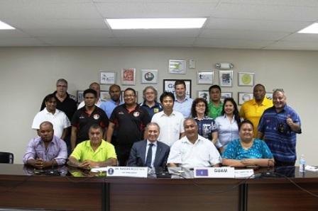 Ricardo Blas of Guam will head the Executive Board of the Oceania Continent Handball Federation ©IHF