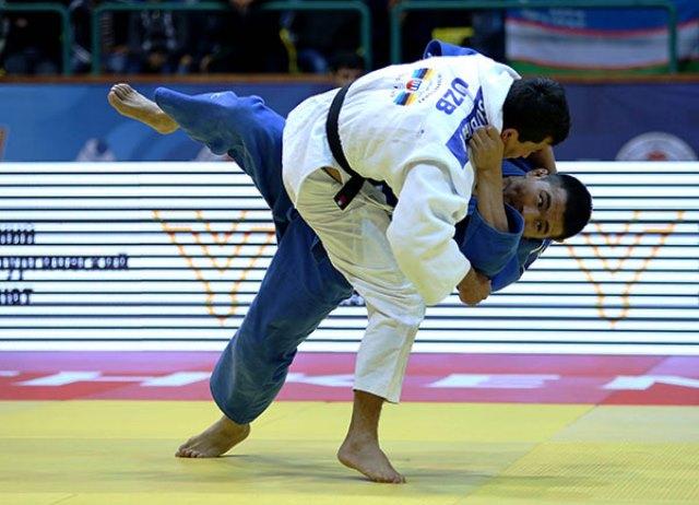 Rishod Soribov ensured host nation Uzbekistan ended day one in Taskent with a gold medal ©IJF