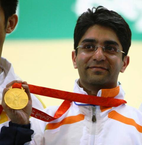 Shooter Abhinav Bindra is the only Indian ever to have won an individual gold medal at an Olympic Games ©Getty Images