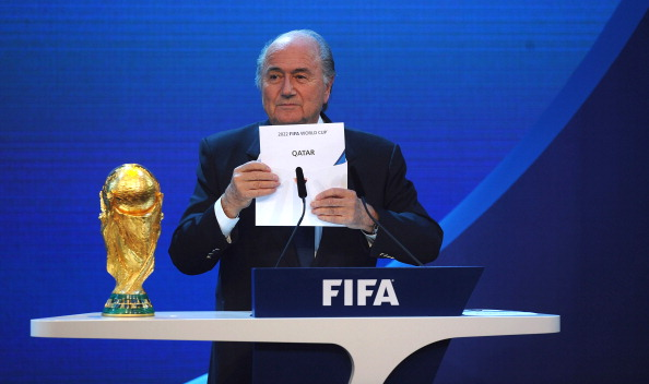 The 2022 FIFA World Cup has faced much criticism since it was awarded to Qatar in December 2010 ©Getty Images